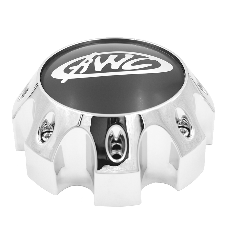 CP850-8 AWC 850 TRAILER CAP CHROME 8X6.5 BOLT PATTERN
