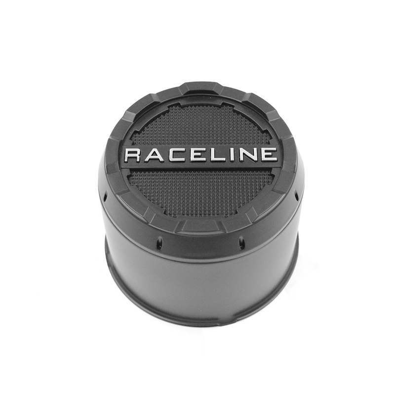 CPR-B-3700 RACELINE DEFENDER BLACK CAP (6X135) FORD