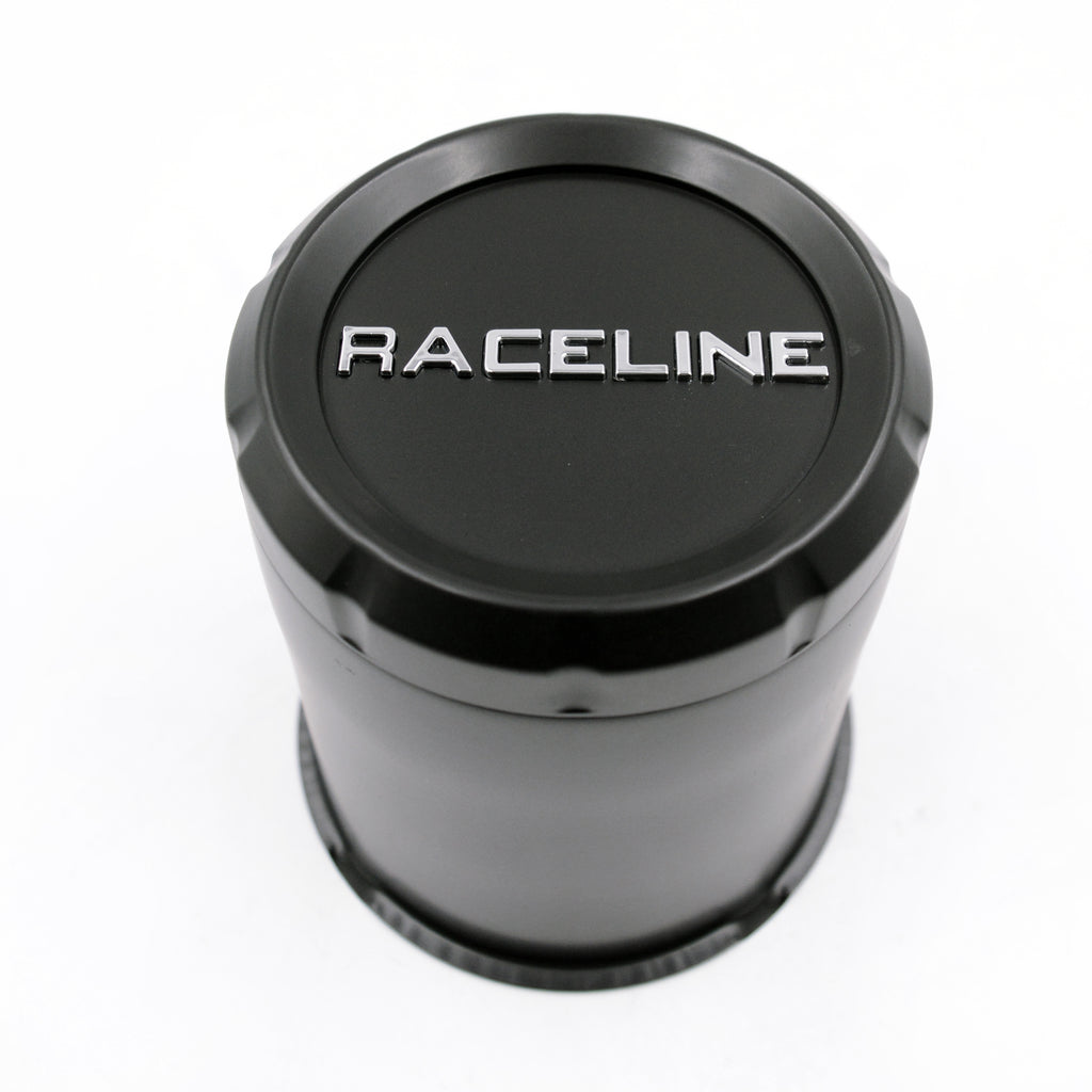CPR-BTR-3190 RACELINE BLACK TRAILER CAP FOR 860M, 855 & 840 SERIES 3.190 BORE (5 LUG)