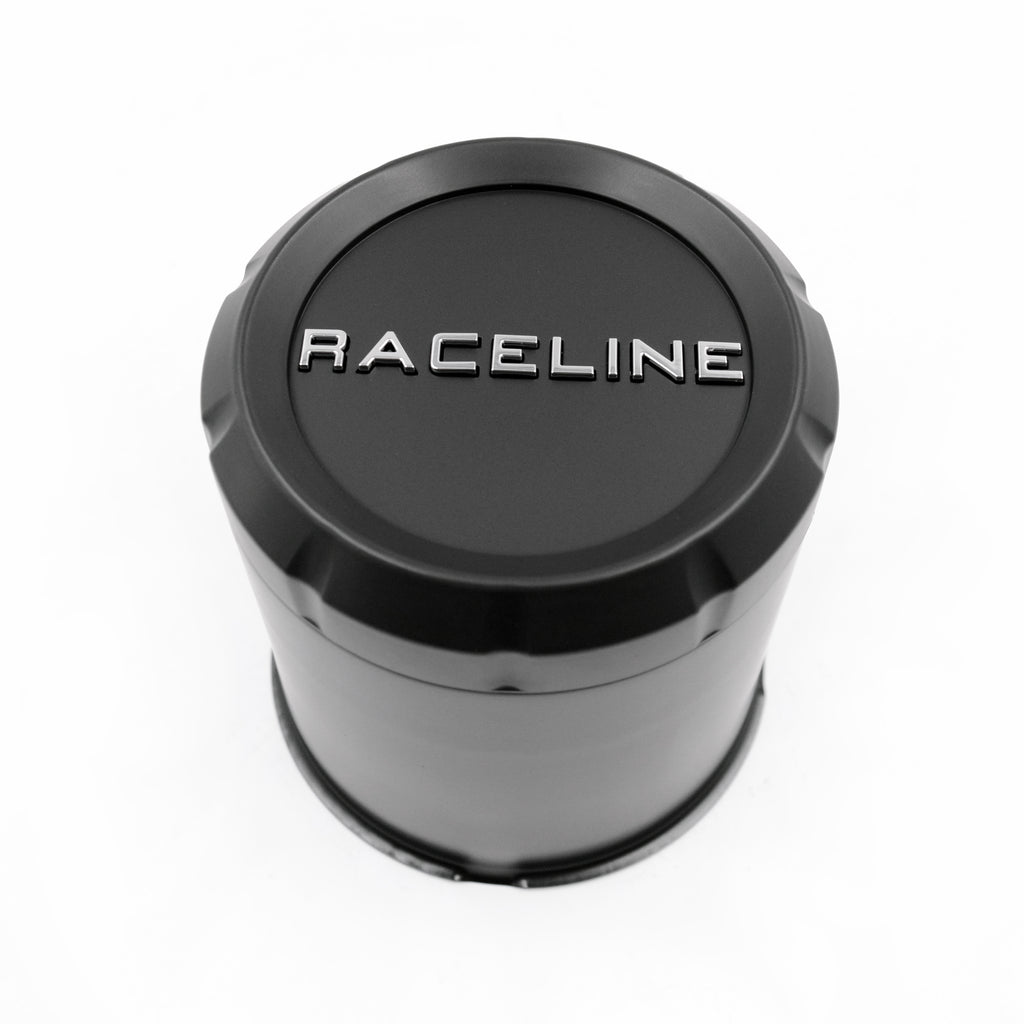 CPR-BTR-4250 RACELINE BLACK TRAILER CAP FOR 860M, 855 & 840 SERIES 4.25 (6 LUG)