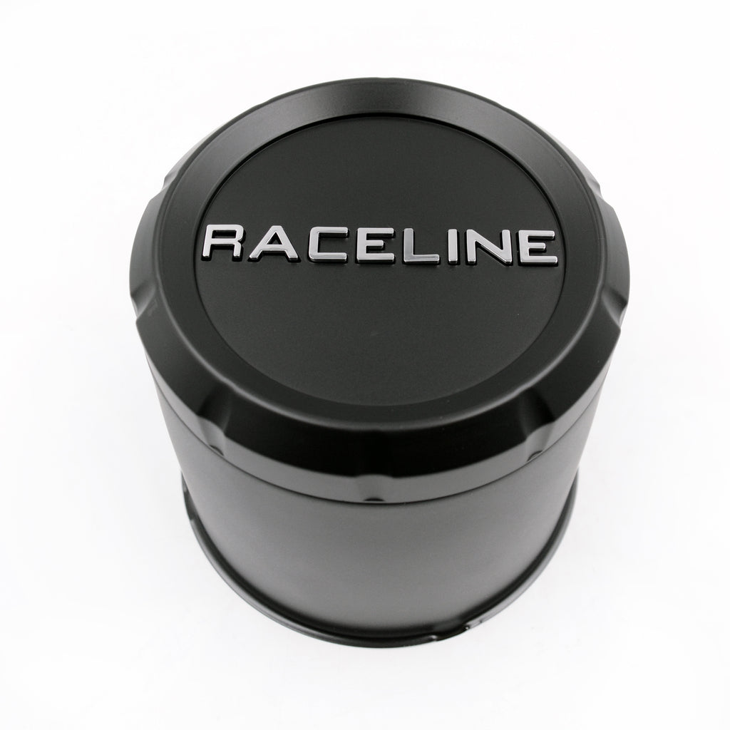 CPR-BTR-4900 RACELINE BLACK TRAILER CAP FOR 860M, 855 & 840 SERIES 4.90 (8 LUG)
