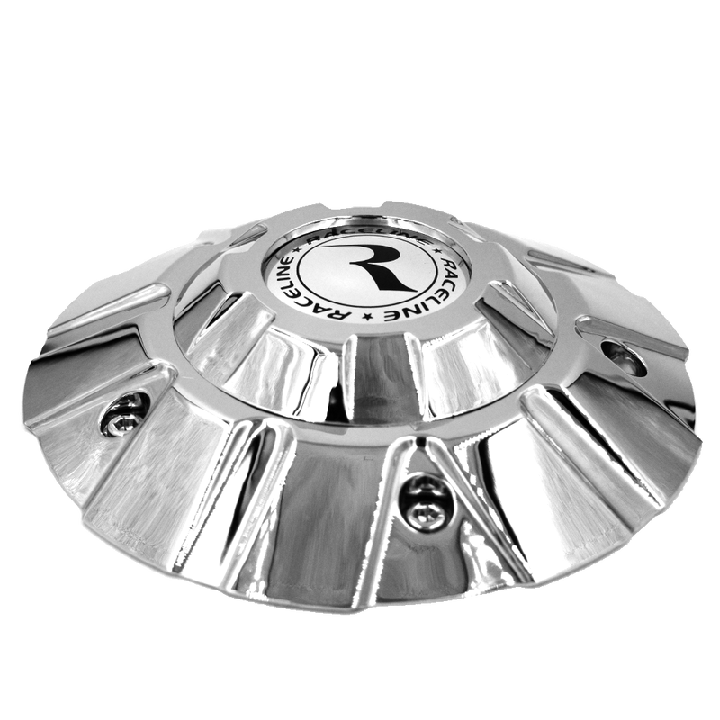 "CPR901C-20 RACELINE RAMPAGE WHEEL CAP IN CHROME FOR 20"" WHEEL"