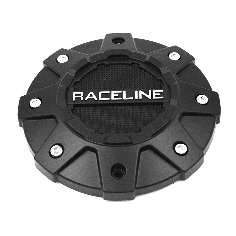 CPR930-5-B RACELINE WHEEL SERIES 930B SHIFT BLACK CAP (5 Lug Only)