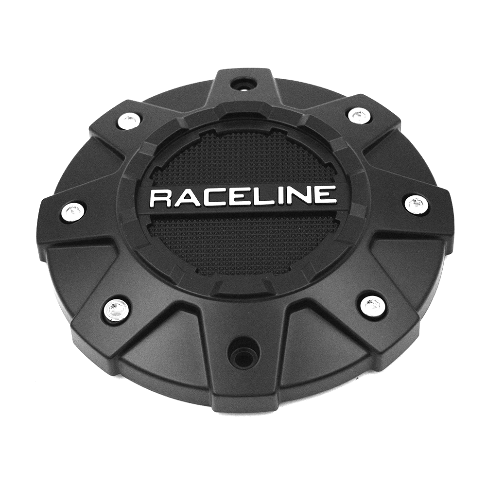 CPR930-6-B RACELINE WHEEL SERIES 930B SHIFT BLACK CAP (5/6 Lug)