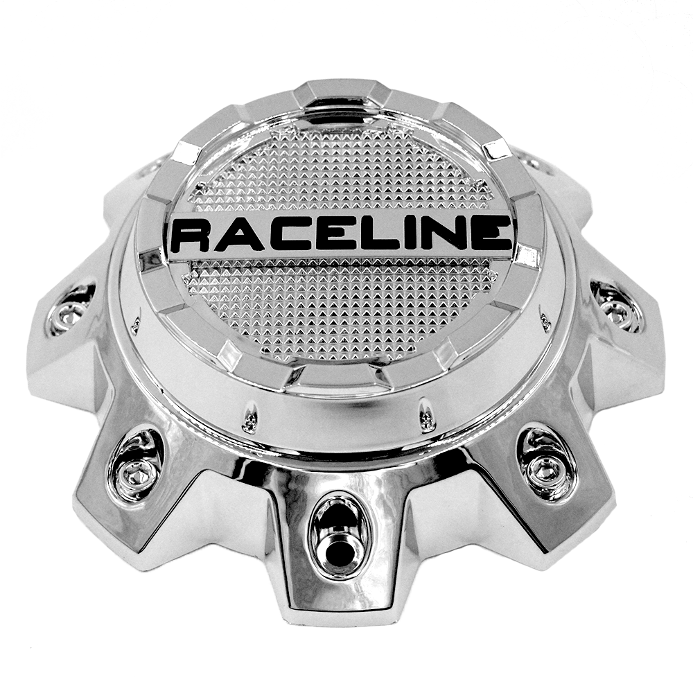 CPR930-8-C RACELINE 930C SHIFT CHROME CAP FITS 8X6.5/8X170