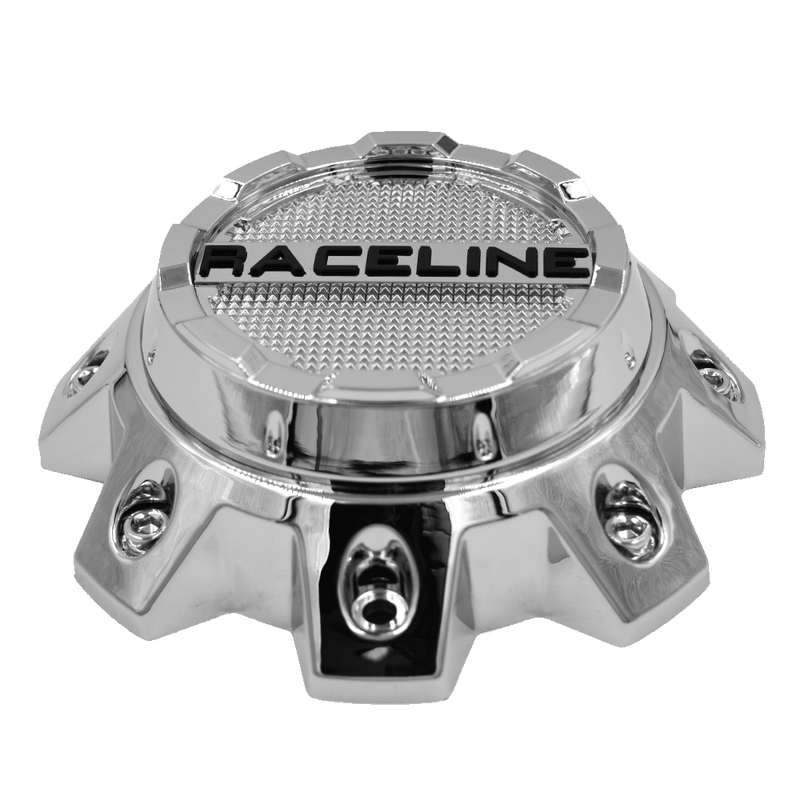 CPR930-8-C RACELINE 936C THROTTLE CHROME CAP FITS 8X6.5/8X170