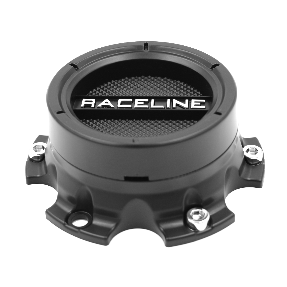 CPR934-12-B RACELINE CLUTCH CAP BLACK (5X114.3)