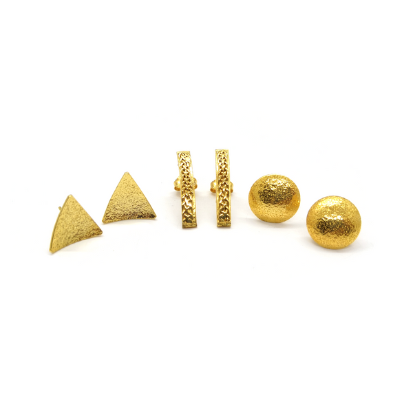 Geometric Shapes Set (3 pairs of Earrings)