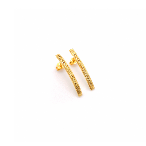 Braid M Earrings