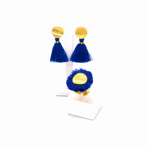 Blue Dream Set: Earrings+Ring