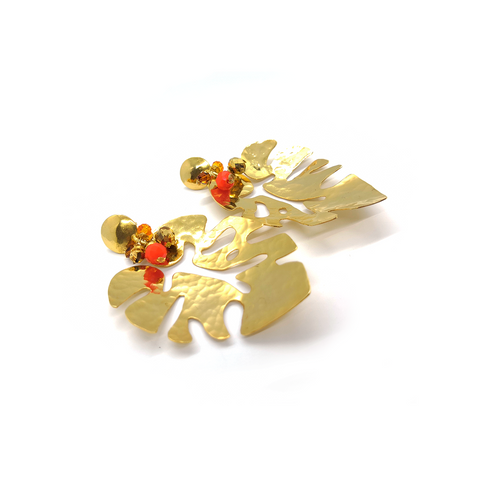 Folium L Earrings