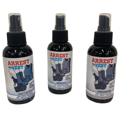 4 oz. Bundle Arrest My Vest Odor Eliminating Spray