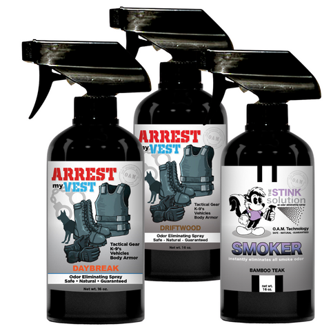 Buy 2 Get 1 FREE Smoke Odor Eliminating 16 oz Spray (Bamboo Teak) - One 16 oz Daybreak and One 16 oz Driftwood