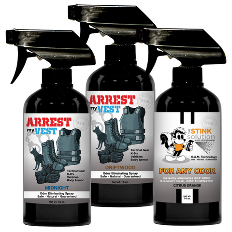 Buy 2 Get 1 FREE Citrus Orange 16 oz Spray - One 16 oz Driftwood and One 16 oz Midnight