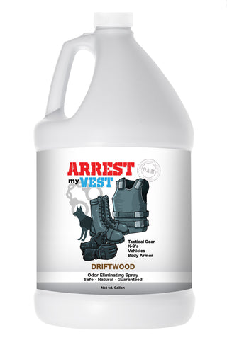 Arrest My Vest Gallon Driftwood Odor Eliminating Spray