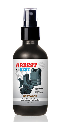 Arrest My Vest 4 oz Driftwood Odor Eliminating Spray