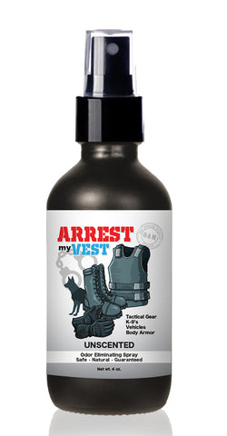 Arrest My Vest 4 oz Unscented Odor Eliminating Spray