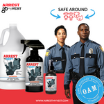 Arrest My Vest Daybreak 16 oz, 4, oz, and Gallon Odor Eliminating Spray Bundle