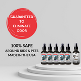 4 oz. Sampler Set: 5 AMV Sprays + 1 Stink Solution Spray (Dog, Pomegranate)