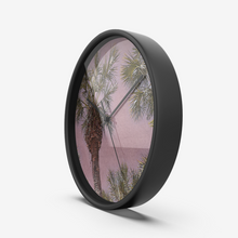 Load image into Gallery viewer, Palm Trees in Hawaii Wall Clock by Concinnity Crafts
