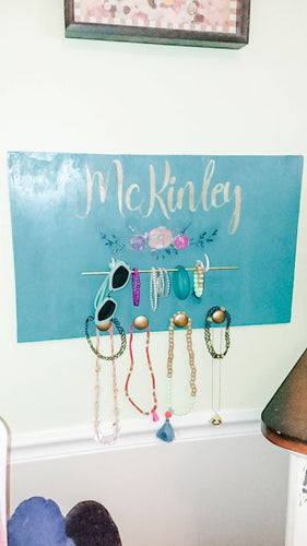 Personalized Wooden Jewelry Organizer,concinnity-crafts,,Concinnity Crafts