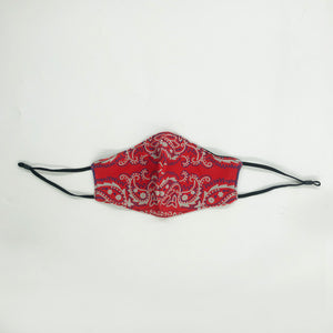 Rodeo Drive Red Cloth Mask