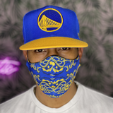 Bay Area Blue Cloth Mask