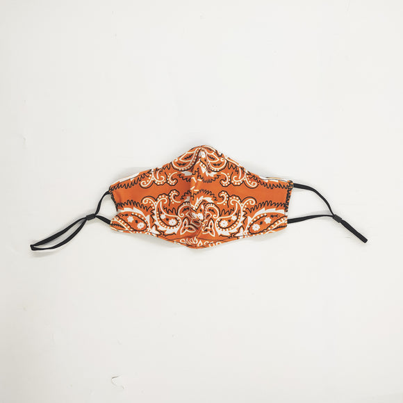 Outlaw Orange Cloth Mask