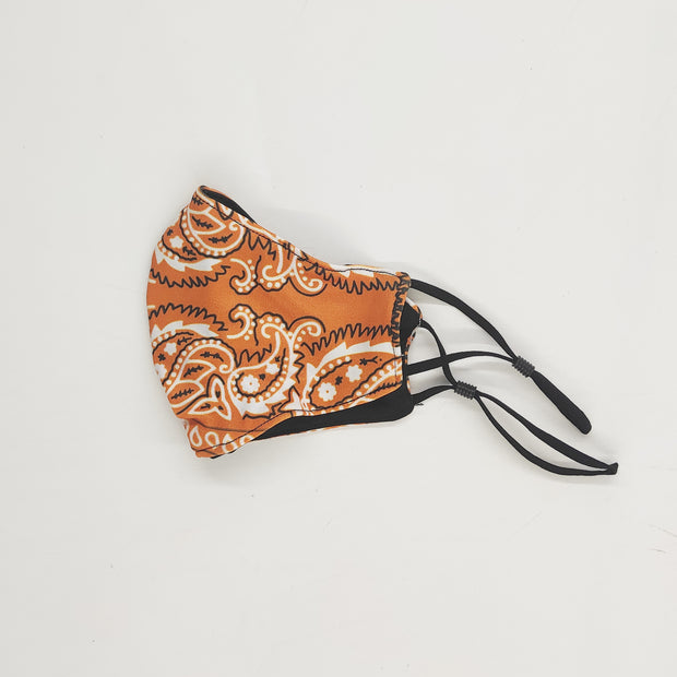 Outlaw Orange Cloth Mask 1
