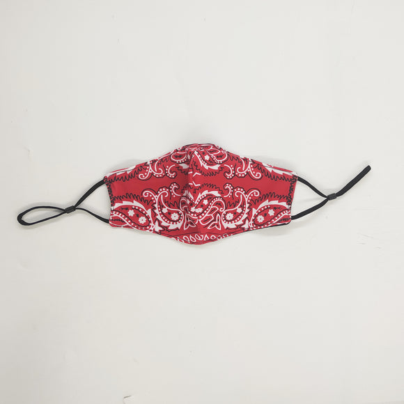Red Handed Cloth Mask