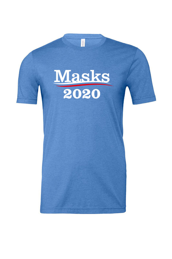 Support Masks 2020 Funny Tee Shirt