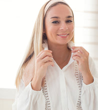 Upload image to gallery, White shirt with lace