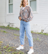 Upload image to gallery, High waisted blue jeans pants