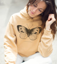 """Upload image to gallery, Caramel """"Butterfly"""" Hoodie"""