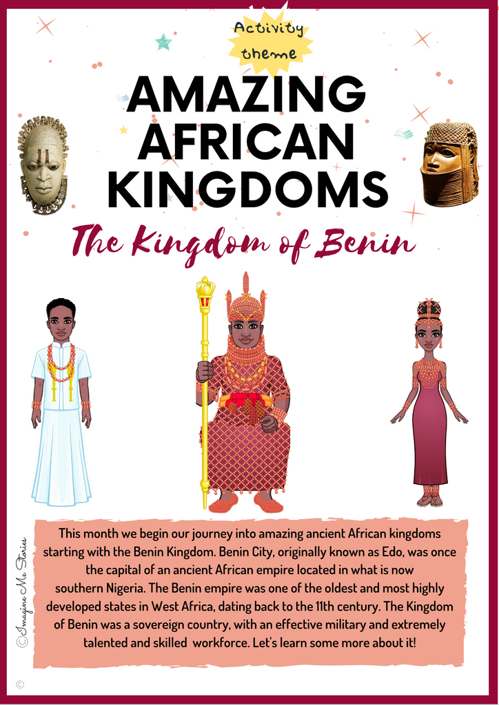 DIGITAL FILE: Kingdom of Benin Activity Pack (Amazing African Kingdoms Series)