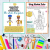 DIGITAL FILE: Zulu Kingdom Activity Pack (Amazing African Kingdoms Series)