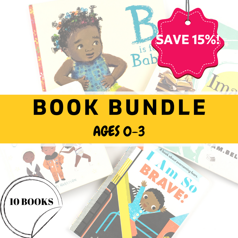 Baby and Toddler Book Bundle (Ages 0-3) - 10 Books - Imagine Me Stories
