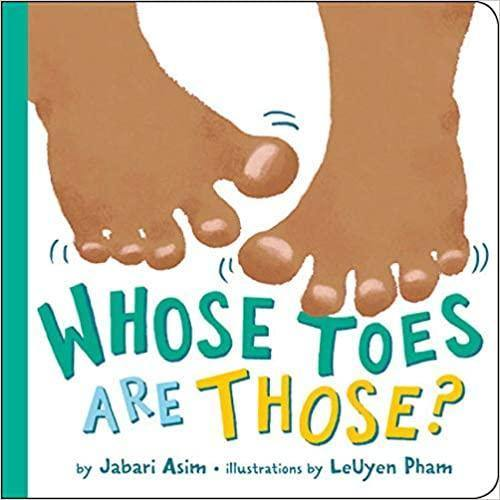 Whose toes are those - Imagine Me Stories