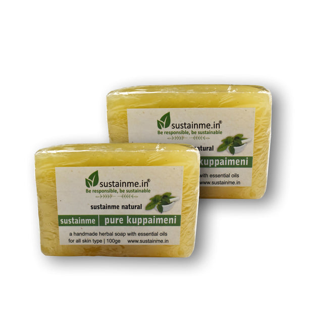 SUSTAINME PURE KUPPAIMENI SOAP - PACK OF 2