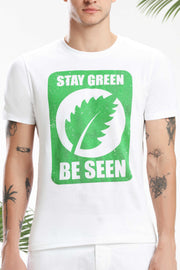 Stay Green, Be Seen Men T-shirt
