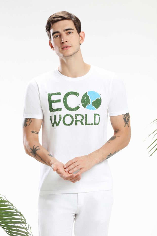 Eco-world Men T-shirt