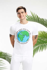 Keep Calm and save our earth Men T-shirt