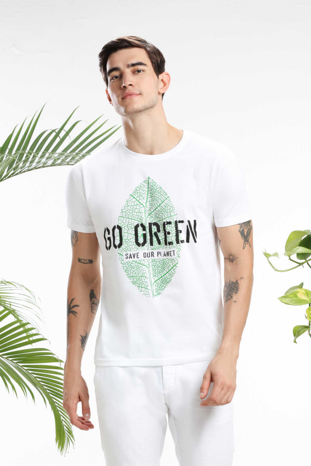 Go Green, Save our Planet Men T-shirt