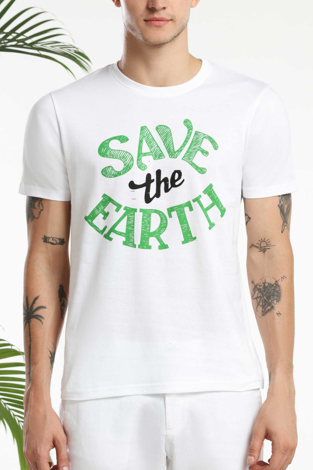 Save the Earth Men T-shirt