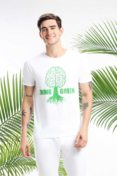 Think Green Men T-shirt