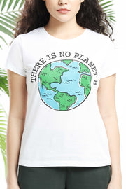 There is No Planet B Womens T-Shirt
