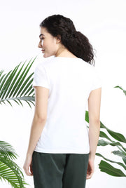 I Love Green Womens Tshirt