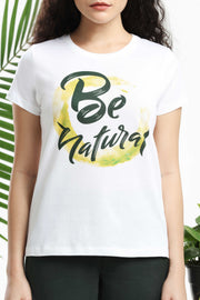 Be Nature Womens T-shirt
