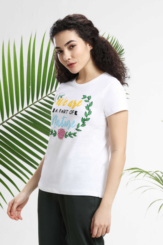 We are a part of Nature Womens T-Shirt