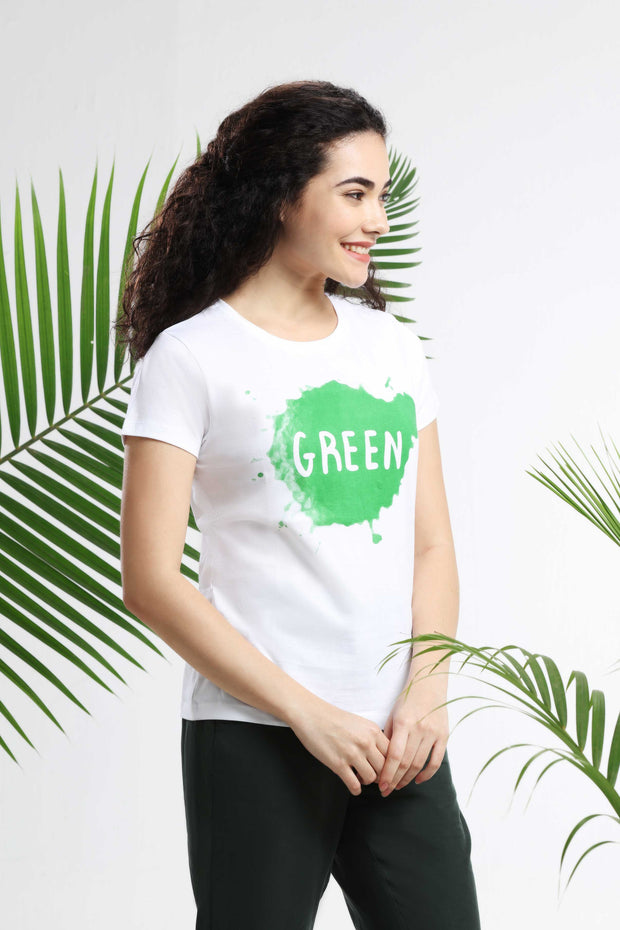Green Womens T-shirt